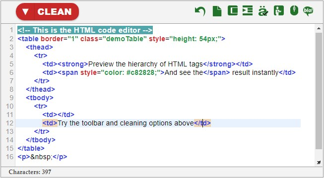 instant source code html preview